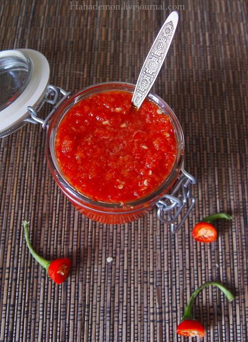 Как сделать острый соус