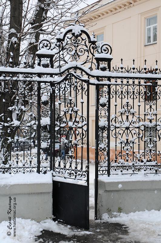 хвіртка палацу