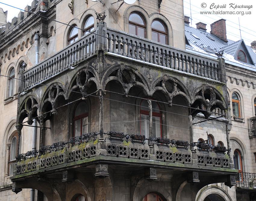 балкон будинку на Генерала Чупринки, 52