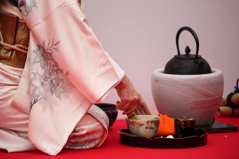 О-бон-датэ - самая простая подача чая в японском чайном действе