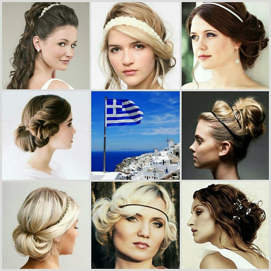 Прически на греческий стиль как делать