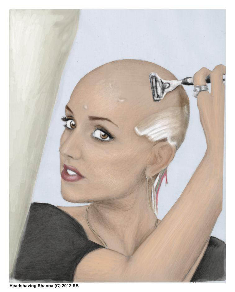 women headshave stories