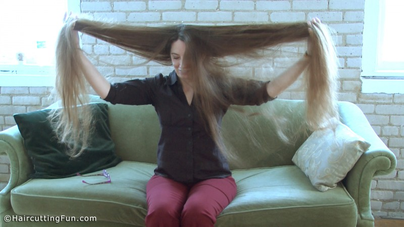 Too long of hair to reach!
