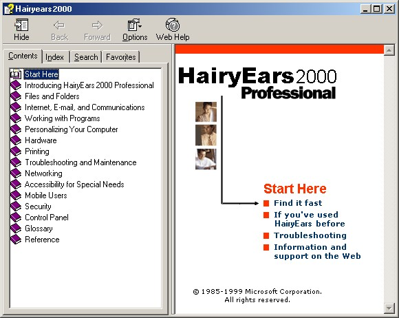 HairyEars Helpfile