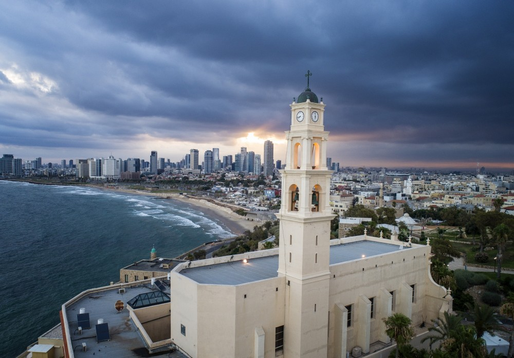 Классика, вид из Яффо на Тель-Авив