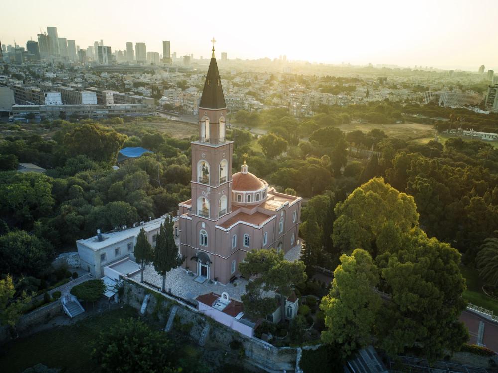 Кусочек России в Яффо, Русская православная церковь