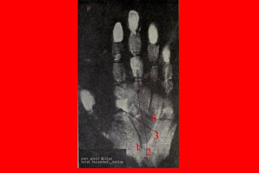 Отпечаток руки Гитлера,Хакер.РФ