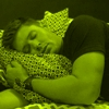 mine-sleeping-jensen ackles-yellow