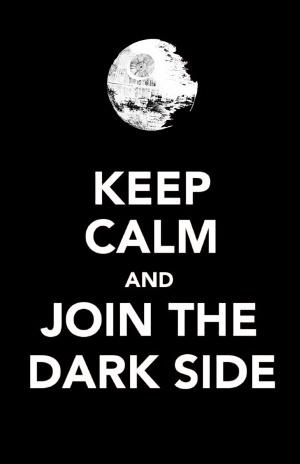 SW-keep calm-dark side