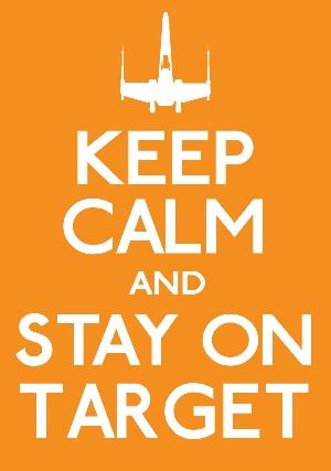 keep calm-target