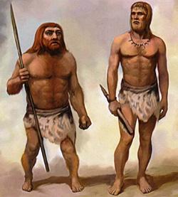 Секс у неандертальцев