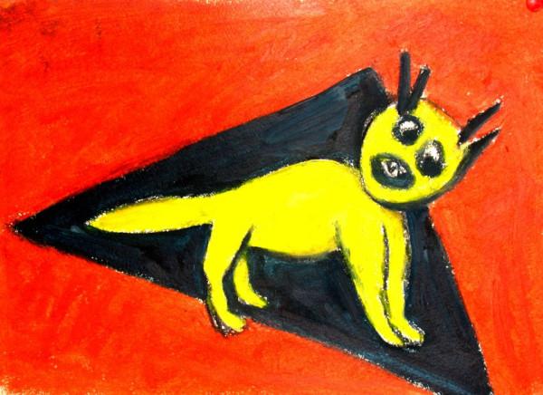 yellow strange