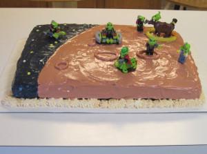 Christopher 2012-- Space Alien Cake