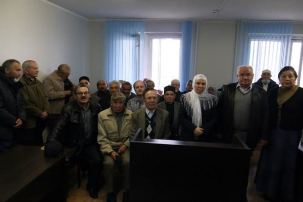 Байрамова перед оглашением приговора