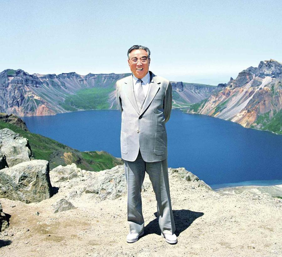 Великий вождь Президент Ким Ир Сен