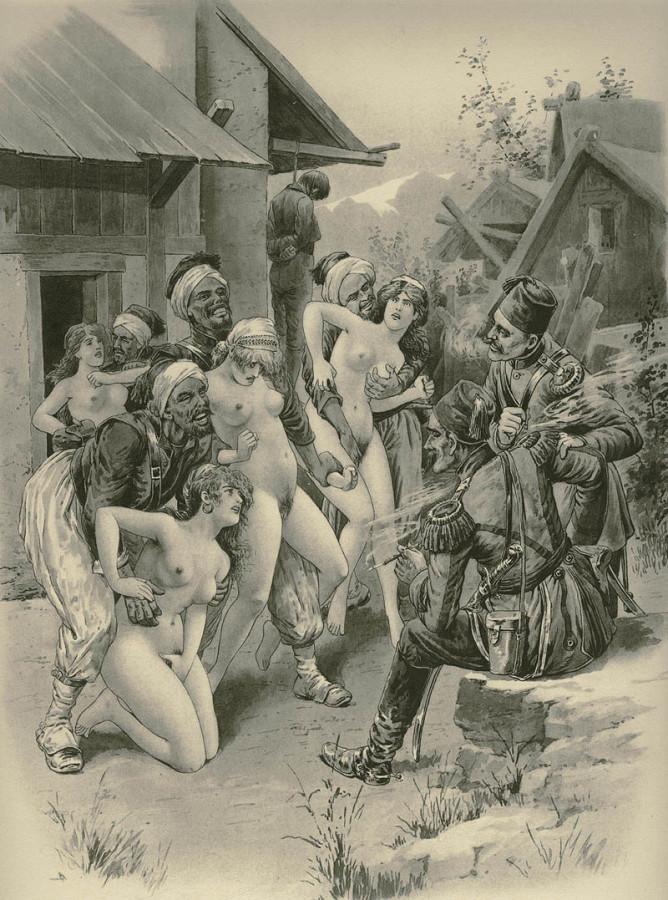 Голые пленные женщины фото