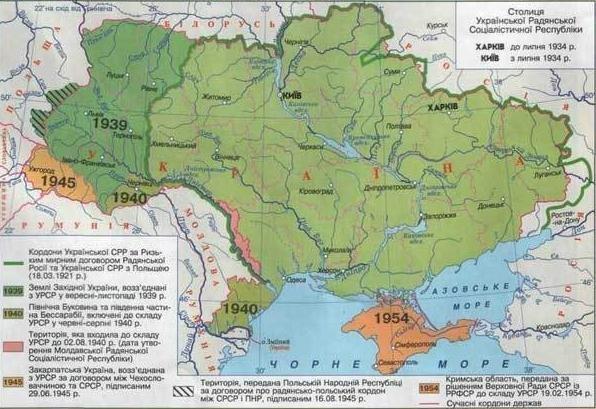1654 года и последующих столетий