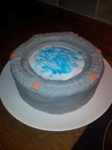 Stargate cake 2