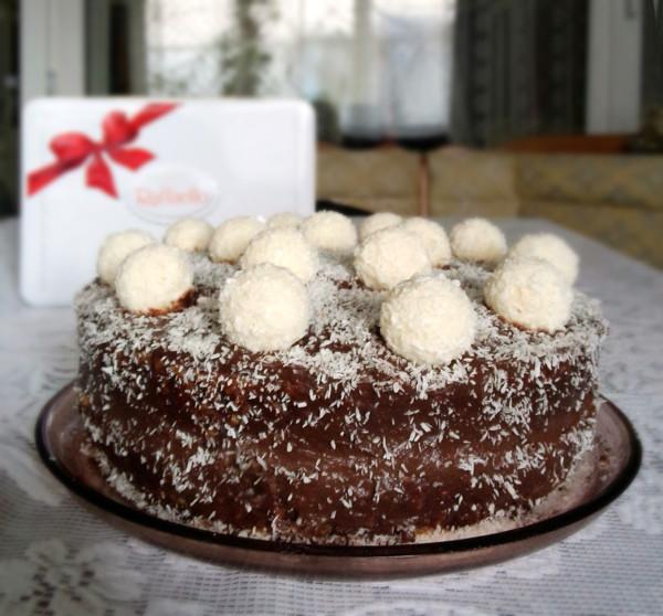 Сделать бисквитный кокосовый торт