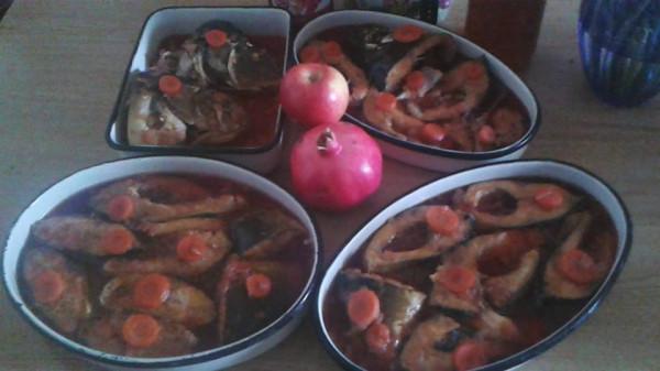 my fish rosh ashana 2014