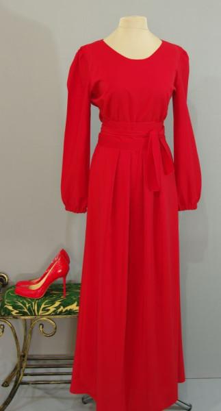 Длинное Красное Платье С Доставкой