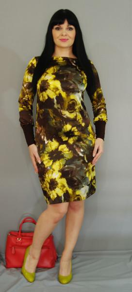 платье со сборкой от груди выкройка