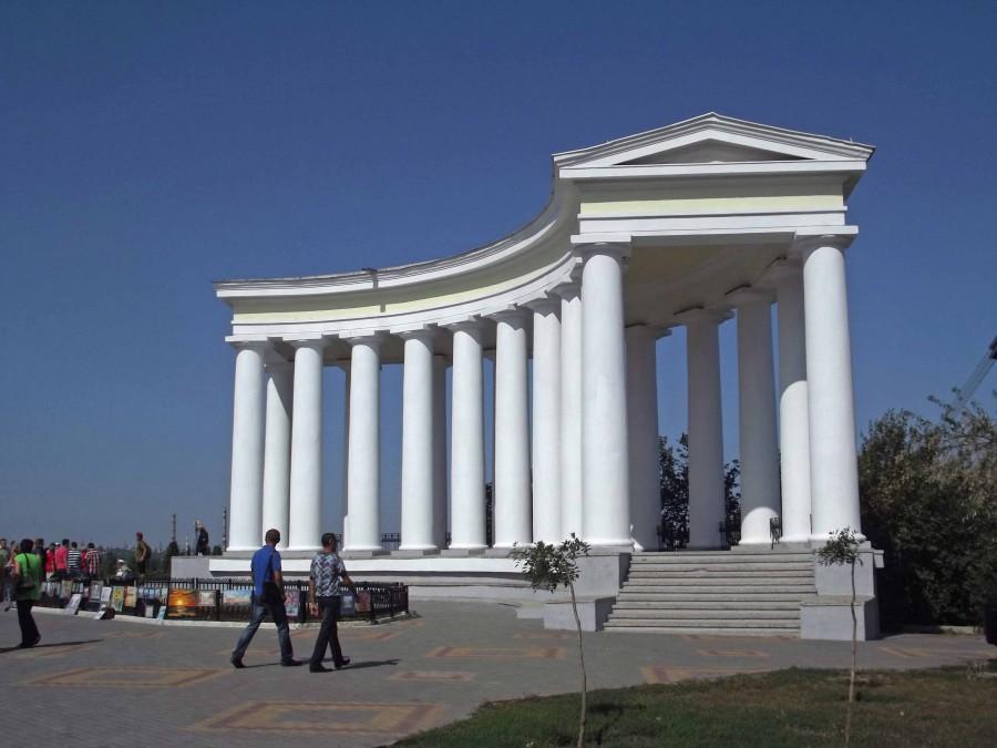Одесса._Ротонда_Воронцовского_дворца.