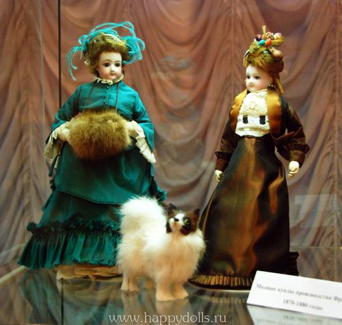 Французские модные куклы