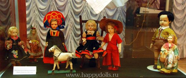 Антикварные куклы Ленчи