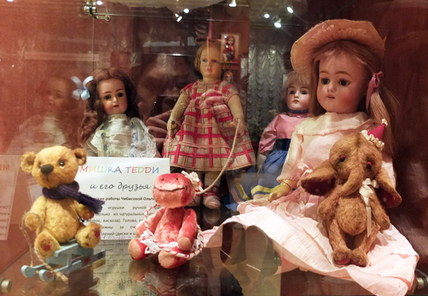 Антикварные куклы и авторские игрушки - купить