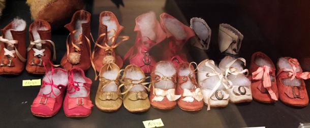 Обувь для антикварных кукол - купить