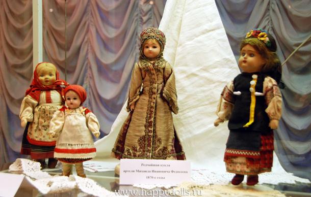 Русские антикварные куклы