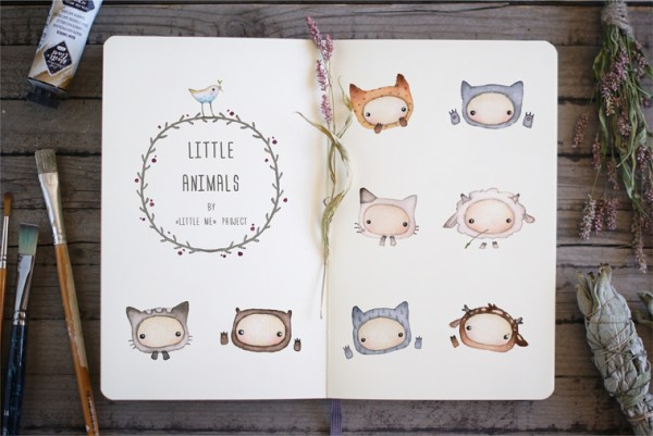 little animals mini