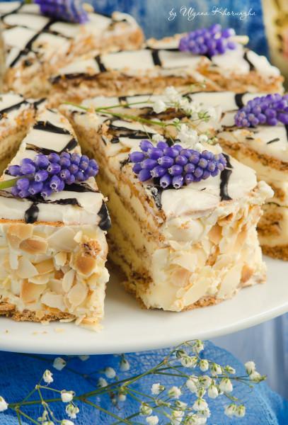 Пошаговый фото рецепт торта эстерхази