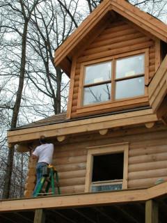 Dormer window, Woodguard applied