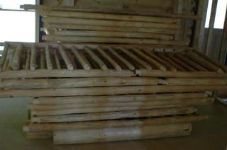 Log rails