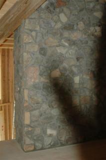 Chimney in loft