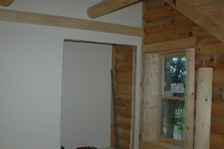 Window & other trim in Q's room