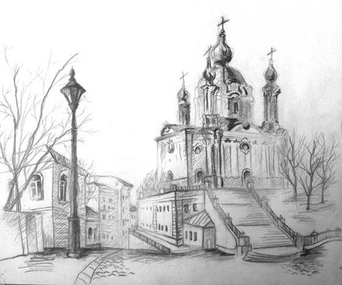 Рисунки чёрным карандашом к 100 летию свободы латвии