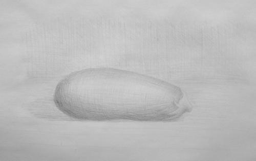 «Баклажан», карандаш. Наталья, взрослые.