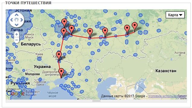 Поездка в Украину
