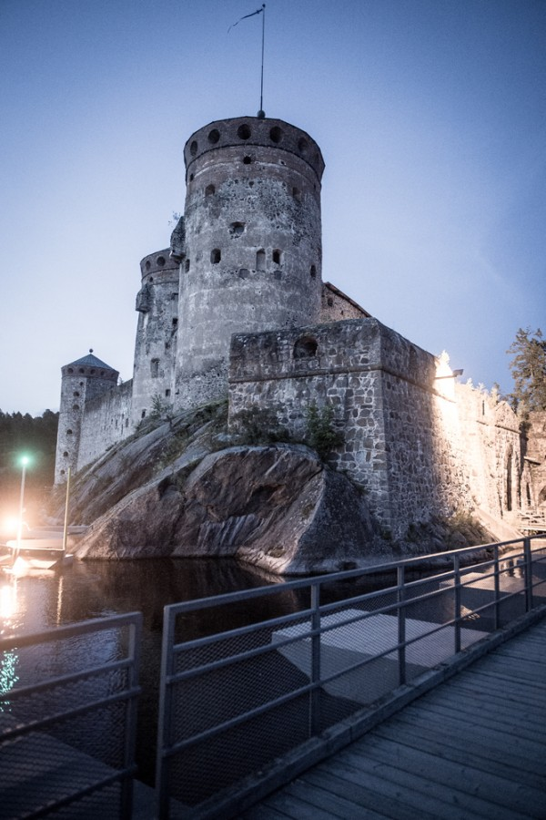 Olavinlinna castle. Photo by Nikolay Krusser (1)