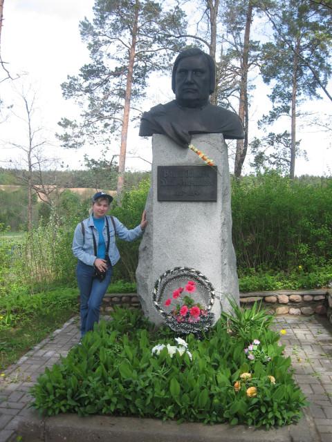 Помнік на магіле Дуніна-Марцінкевіча, 2011