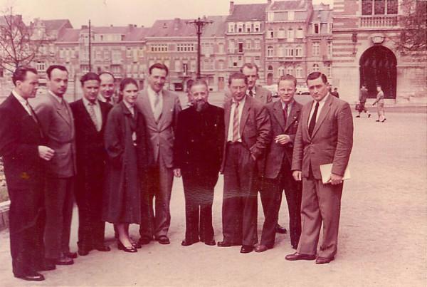 BielStudentyLiuvenskahaUniv 1956