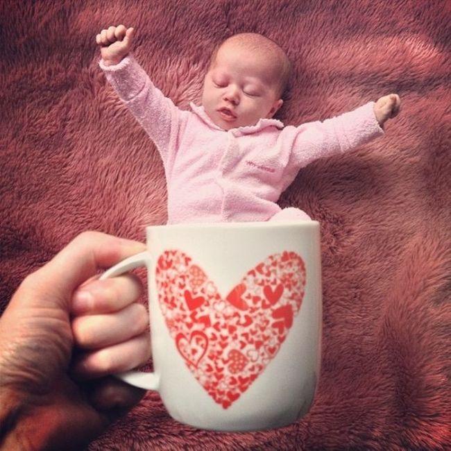 Идеи для фото новорожденного в домашних условиях по месяцам