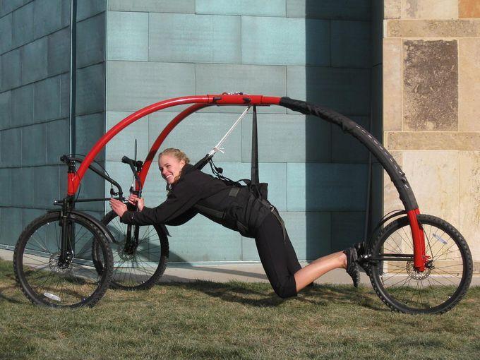 Как сделать из людей велосипед