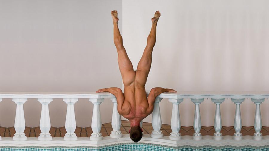 guy-upside-down-wallpaper-1366x768