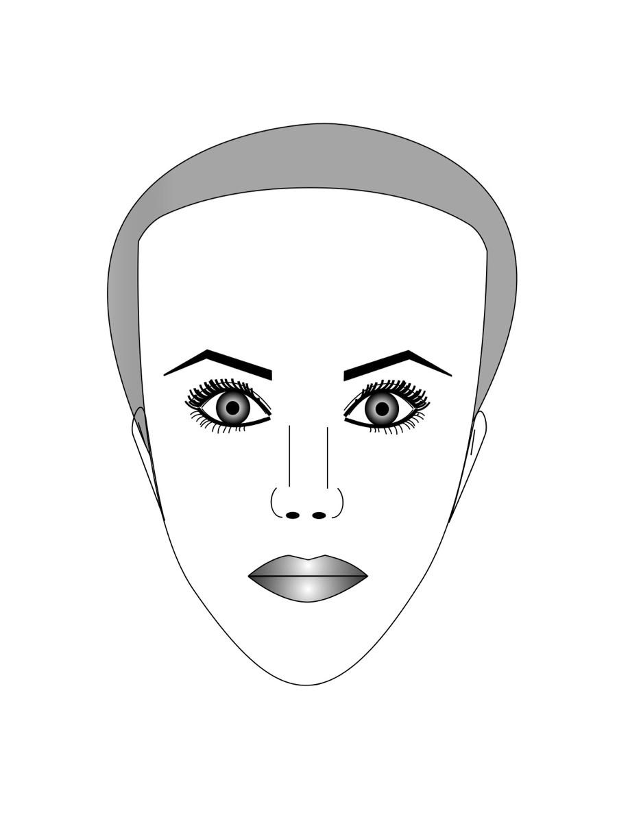 Люди с треугольной формой лица