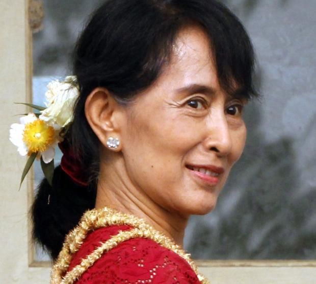 Лидер модернистской оппозиции Мьянмы Аун Сан Су Чжи