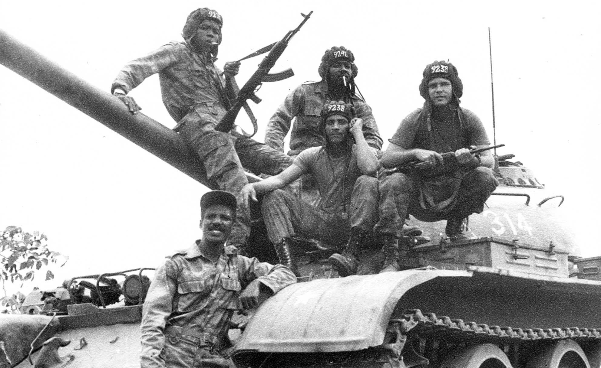 Кубинские интернационалисты в Анголе